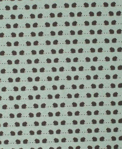 Lillestoff Jersey Igellove, grün, meliert