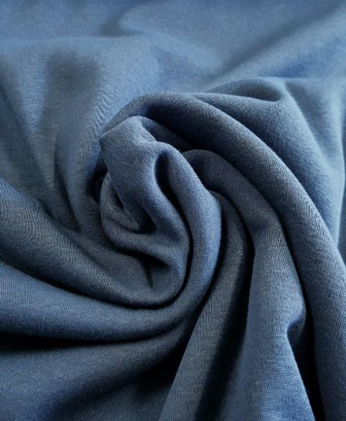 Alpenfleece Uni blau