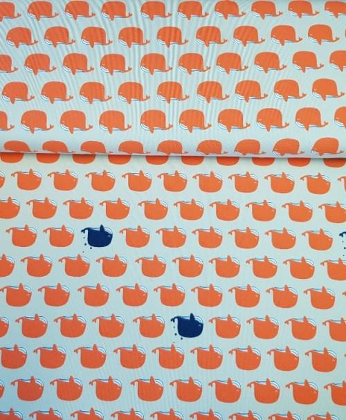 Jersey MOOS Seafriends Whale orange