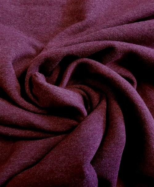"Hilco French Terry ""Sweat Crop"" violett"
