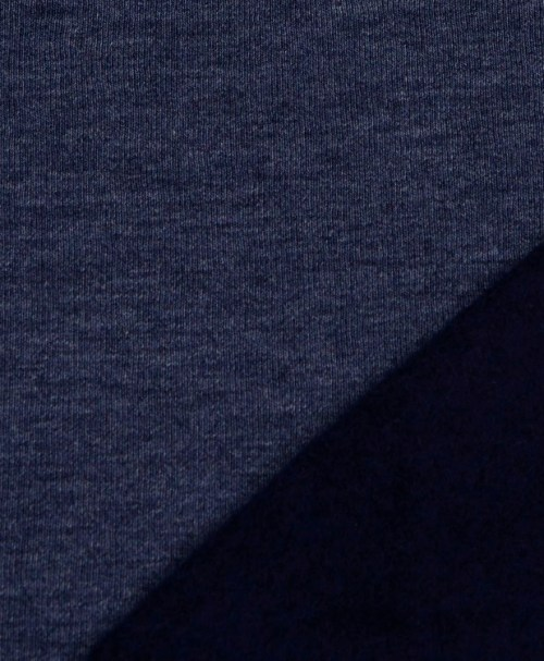 Hilco Sweat Heavy Hoodie dunkelblau-meliert