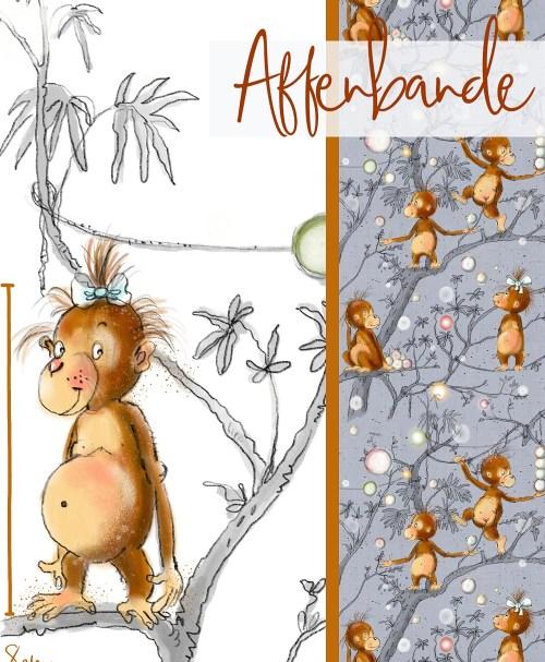 Lillestoff Jersey Affenbande