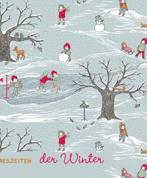 Lillestoff Jersey Bellas Jahreszeiten, der Winter NEU