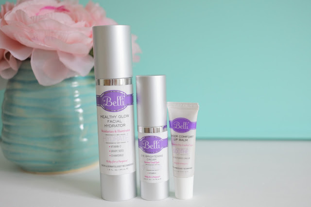 Belli Skincare featured on Amy West Travel the Blog