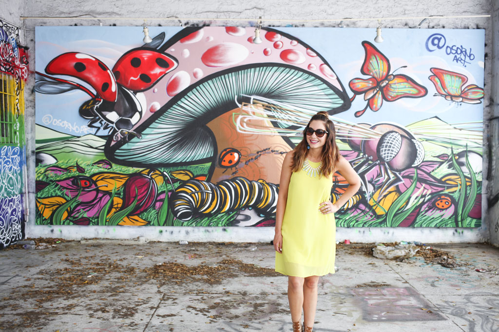 Amy West at the Wynwood Walls