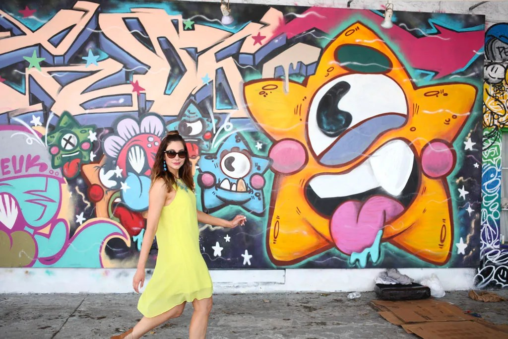 Amy West walks through the Wynwood Walls