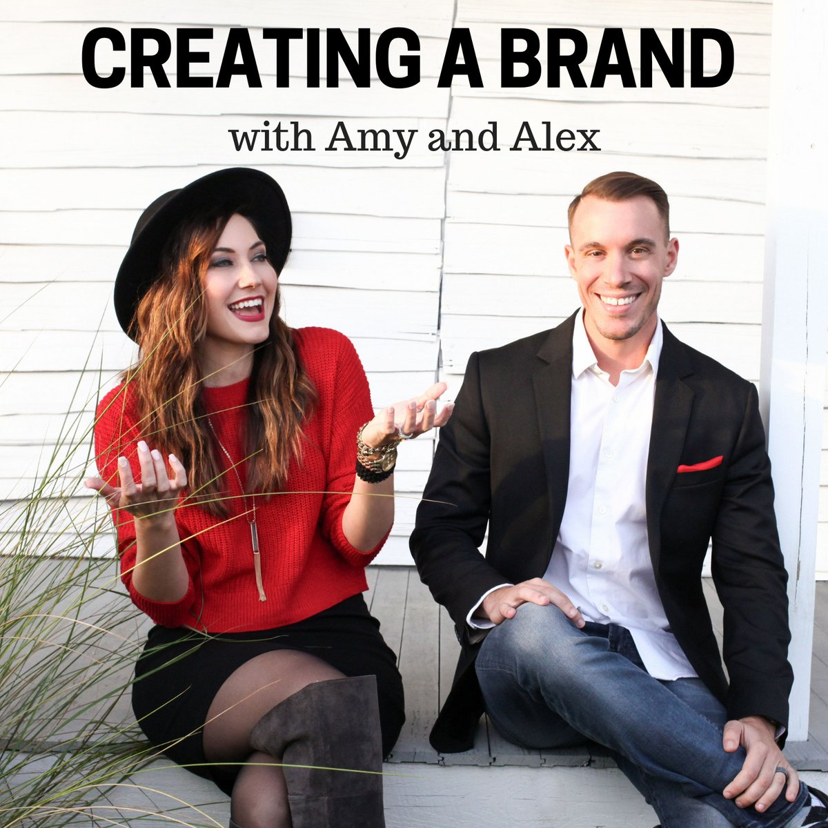 Amy and Alex with Creating a Brand