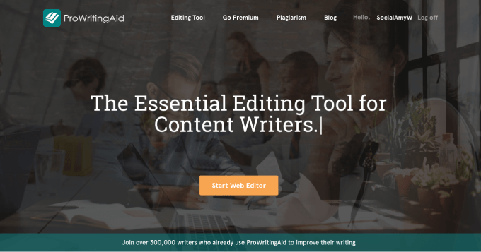 ProWritingAid Writing App Screenshot