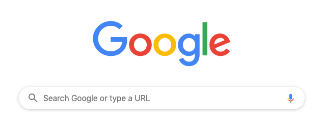 Screenshot of Google search interface.