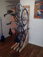 90 Brilliant Ideas to Make Hanging Bike Storage 40