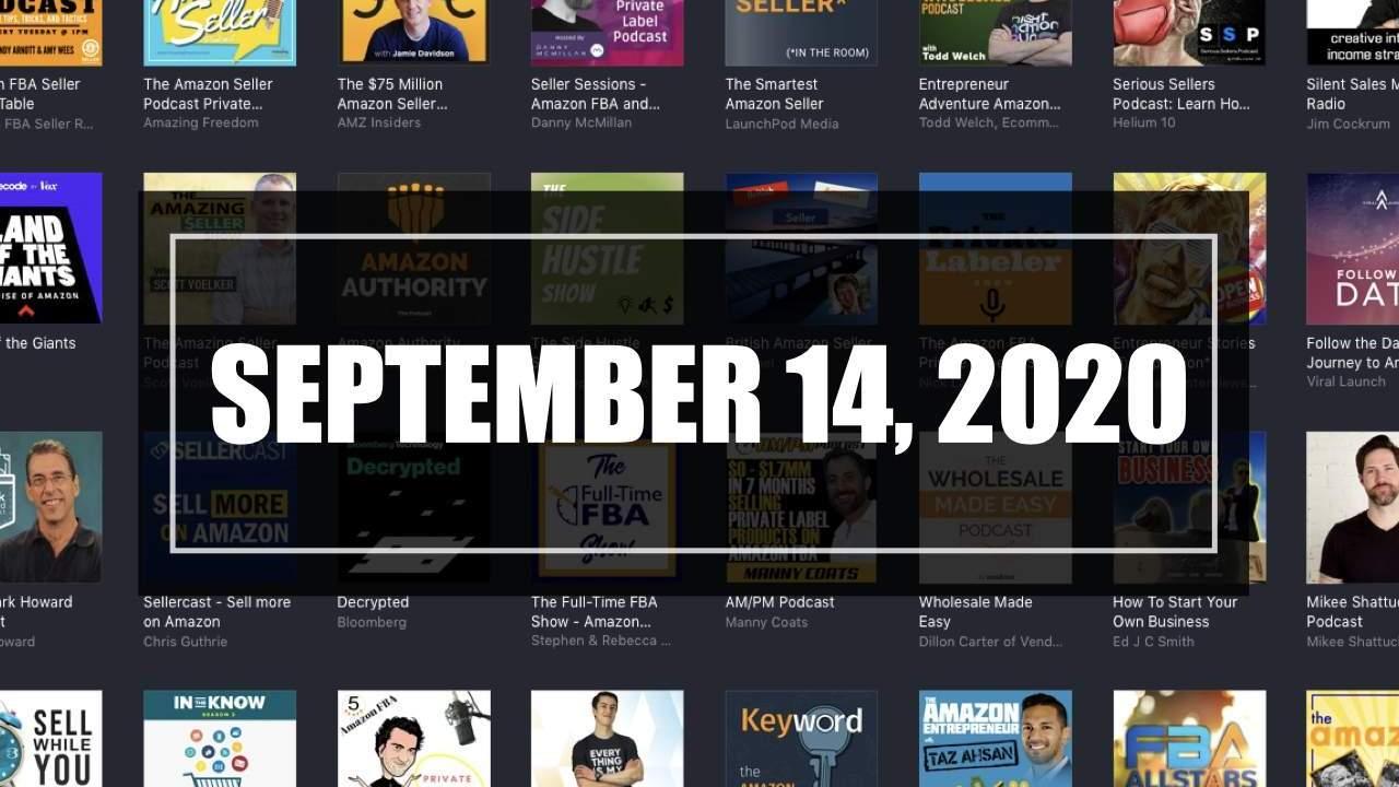 2020-09-14 Amazon Seller Updates