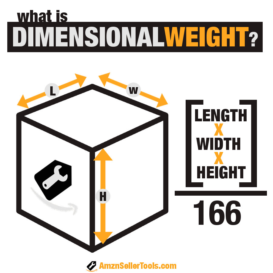 Amazon FBA Dimensional Weight
