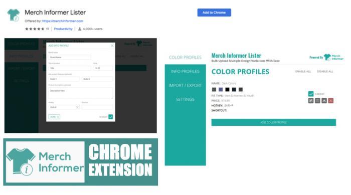 Merch Informer Chrome Extension