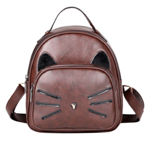 Cornelia Cat Backpack No Faux Vegan (Cruelty-Free Valentine's Day)
