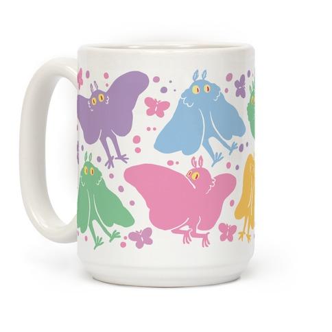 Cute Pastel Mothman Mug