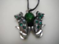Butterfly Rhinestones WomenPendant Necklace Fashion Jewelry