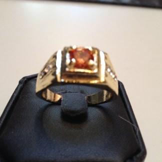 Lab Sapphire Unisex Ring Fashion Jewelry