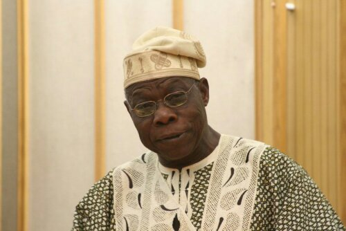 Muslim Students Attack Ex-President Obasanjo, See Why