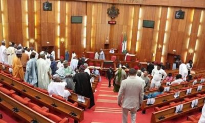 Members of the 9th National Assembly today June 11 were inaugurated with Ahmed Lawan as Senate President, Senator Ovie Omo Agege as Deputy Senate President.