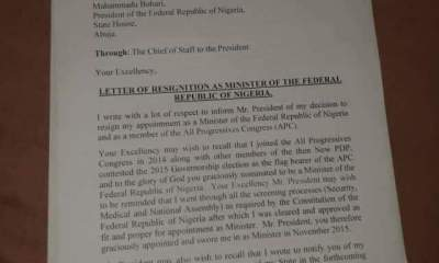 Full Text Of What Aisha Alhassan Said In Her Resignation Letter