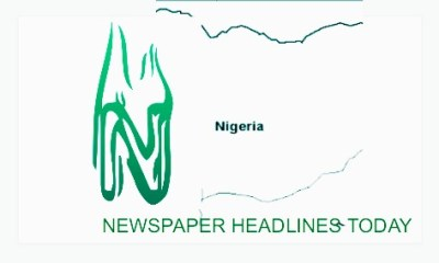 Nigerian Newspaper Headlines Today: September 24th