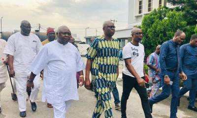 After 13 Days In EFCC Custody, Fayose Regains Freedom