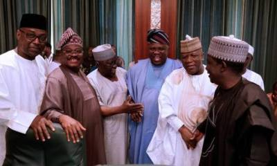 Minimum Wage: Governors Keep Mum After Meeting With Buhari