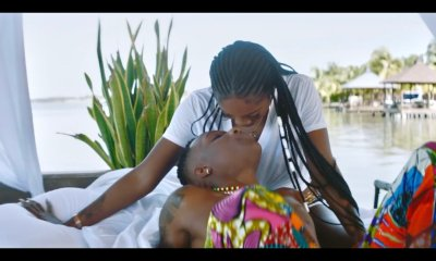 "Watch: Wizkid And Tiwa Savage Get Romantic In ""Fever"" Video"