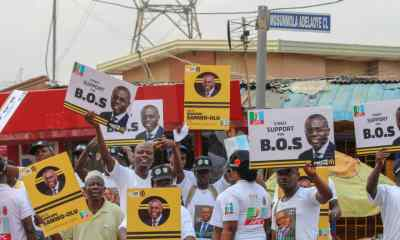 When 'BOS Your Street' Stormed Lagos streets for Sanwo-Olu