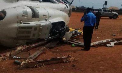 Breaking: Osinbajo's Chopper Crash Lands In Kabba, Kogi