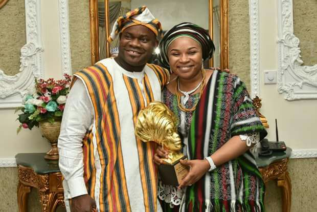 Yahaya Bello's Wife Involved In Accident In LG Where Osinbajo's Chopper Crashed