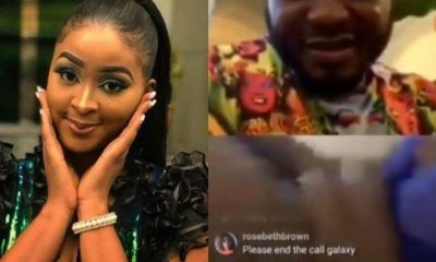 Nollywood Actress, Etinosa Strips Naked On Instagram Live With MC Galaxy (Video)