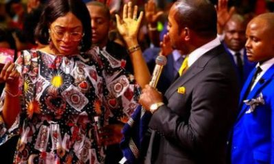 One of the strangest videos you'd see on social media today is that of Oge Okoye in tears as she visits controversial South African pastor, Alph Lukau of Alleluia Ministries International.