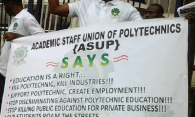 The Academic Staff Union of Polytechnics (ASUP) might embrace another strike action over the alleged failure of the federal government to implement the agreement recently reached by both parties.