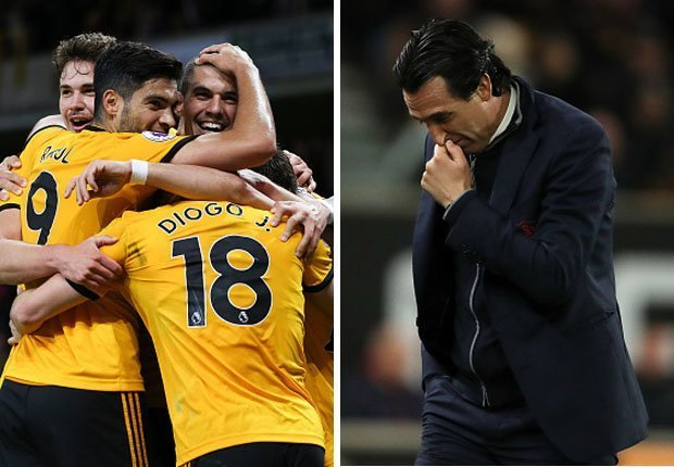 Arsenal remains in 5th position after a 3-1 defeat at Wolverhampton Wanderers on Wednesday put a huge dent in their hopes of a top-four finish in the Premier League.