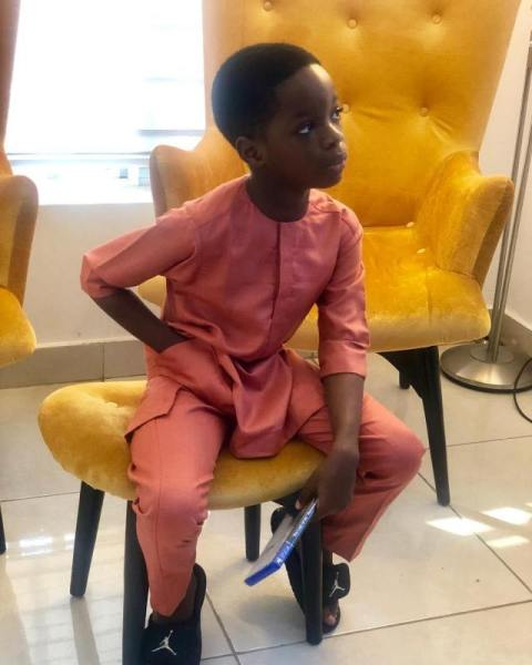 Singer, Wizkid's son, Boluwatife has named YBNL god Olamide among the list of his favourite artists in Nigeria – the youngster made this known in a recent interview with Goldmyne TV.
