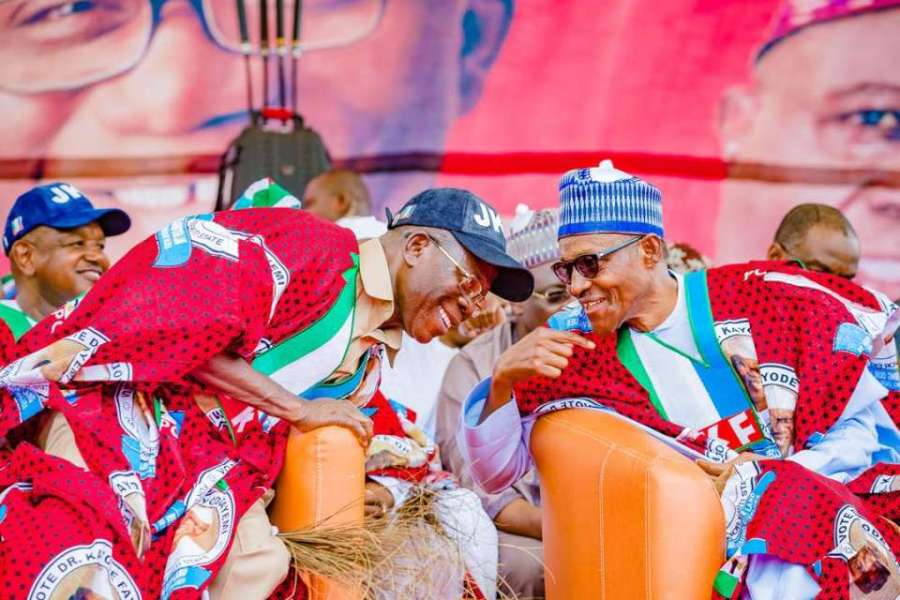 President Muhammadu Buhari has joined all members of the All Progressives Congress (APC) in felicitating with the party's National Chairman, Comrade Adams Oshiomhole on his 67th birthday.