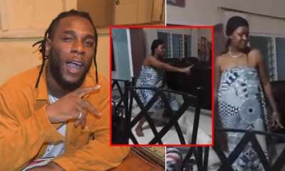 A Nigerian Lady took to Twitter to share videos of her mum dancing to Burna Boy's Gbona, hoping to get a shout out from the singer to her mum and her wish was granted.