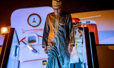 Buhari Returns To After Economic Summits In Jordan, Dubai