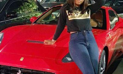 Nollywood star Regina Daniels has again acquired a Posh Ferrari to add to her fleet of cars.