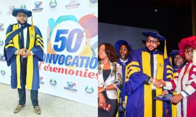 E-Money Reveals Institute He Got His Honorary Degree
