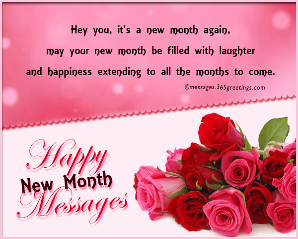 50 Happy New Month Messages And Prayers To Send To Friends