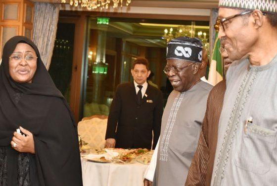 President Muhammadu Buhari has met with a national leader of the governing All Progressives Congress (APC), Bola Tinubu, in Makkah, Saudi Arabia.