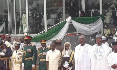 Former Presidential aide, Reno Omokri has mocked the national chairman of the All Progressives Congress (APC), Adams Oshiomhole whose video went viral across social media platforms for breaching protocol during the inauguration of President Muhammadu Buhari at the Eagle Square in Abuja, Nigeria's capital.