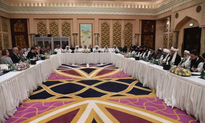 American and Taliban negotiators began a new round of peace talks today, Wednesday in Doha, Qatar, aimed at securing a lasting peace agreement that would include Taliban guarantees regarding terrorism and a phased withdrawal of American troops.