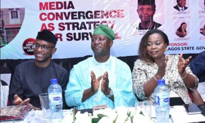 Nigeria's Vice President, Professor Yemi Osinbajo and Lagos State Governor, Mr. Akinwunmi Ambode on over the weekend urged the media to continue to do everything within its powers to ensure that members adhere strictly to the code of ethics to preserve the sanctity of the profession.