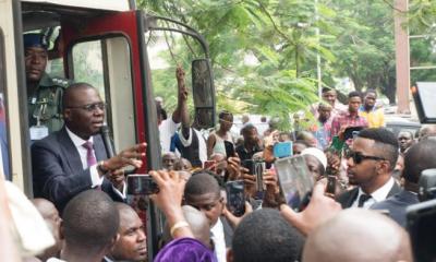 Lagos Civil Servants Welcome Sanwo-Olu As He Assumes Office