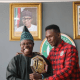 Nigeria-born Ultimate Fighting Championship (UFC) Interim Middleweight Champion, Israel 'The Last Stylebender' Adesanya met with Ogun State Governor, Senator Ibikunle Amosun at his Oke-Mosan, Abeokuta office, on Thursday.