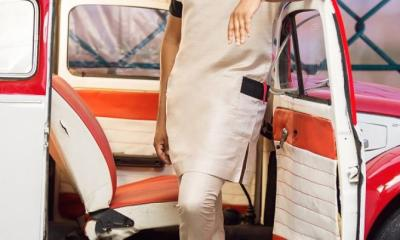 Pretty Mike one of the most controversial Lagos socialites who has been in the news over his rather weird lifestyle has once again hit the social media with renowned fashion brand Yomi Casual's new 2019 collections and it's a tempting array of newness.
