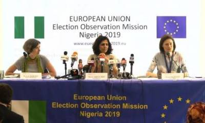 EU Releases Report On 2019 Elections, Knocks INEC, Security Agencies